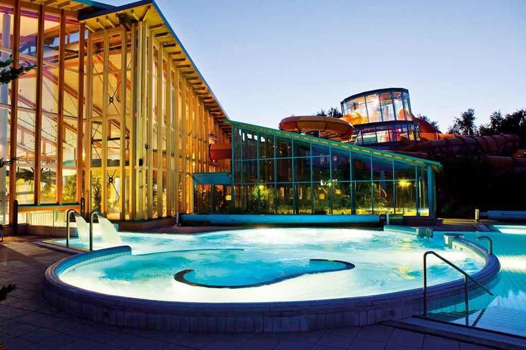 Wonnemar Wismar ist Spaßbad, Wellnessauszeit und Saunawelt in einem