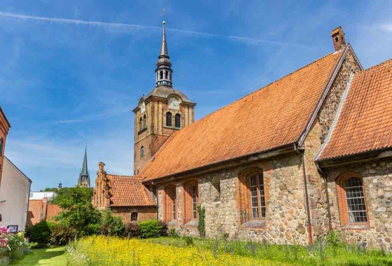 Die Johanniskirche ist die älteste Kirche in Flensburg