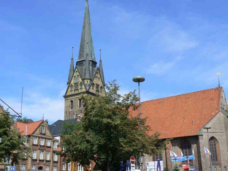 Die Nikolaikirche ist die größte Kirche Flensburg