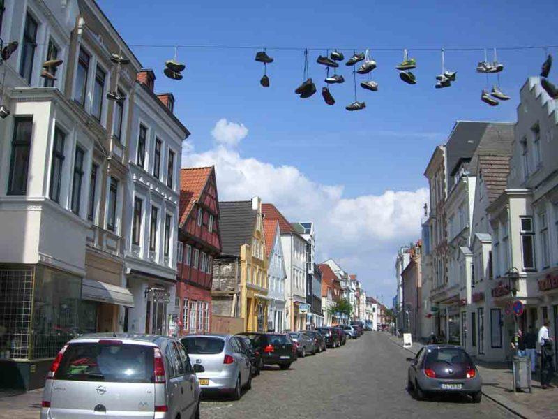 In der Norderstraße kann man wunderbar einkaufen