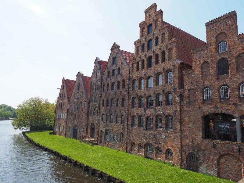 Die Salzspeicher in Lübeck diente als Kulisse für Vampirfilme