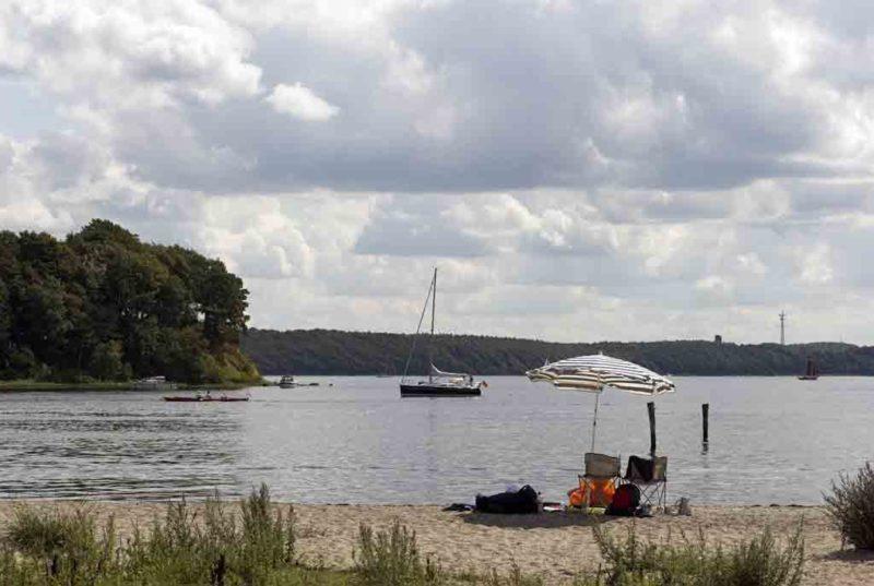 Die Flensburger Förde markiert das westliche Ende der Ostsee in Deutschland