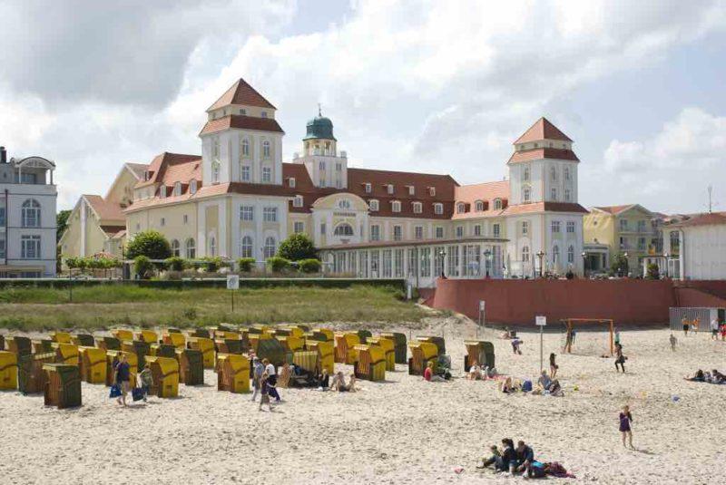Binz ist das meist besuchte Seebad auf Rügen