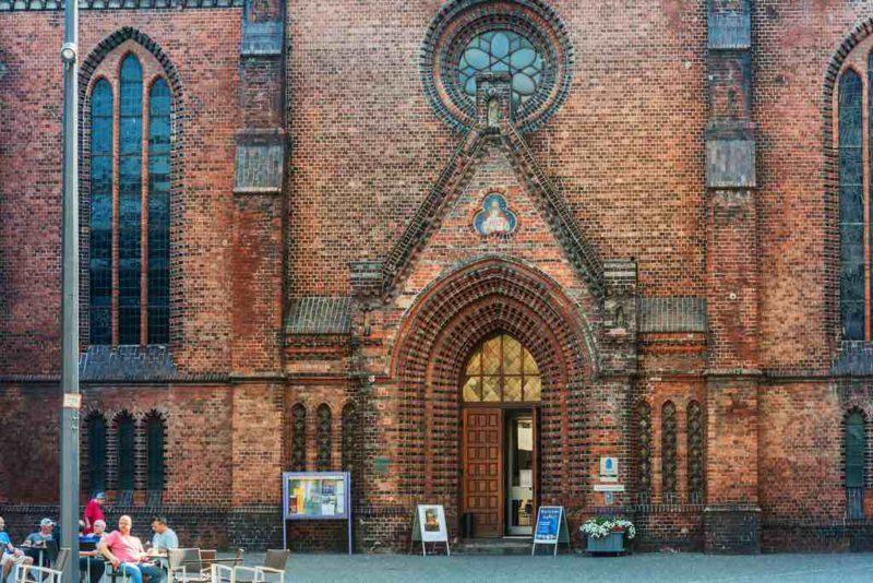 Die Nikolaikirche in Kiel