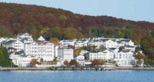 Die Altstadt von Sassnitz auf Rügen