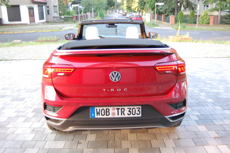 VW T-Roc Cabriolet Foto: F. Moritz