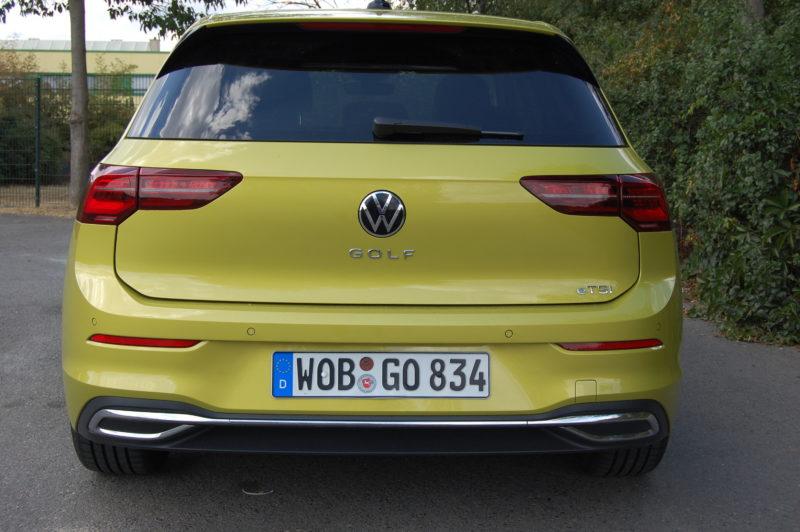 VW Golf 8 Style 1.5 eTSI 110 kW Foto: F. Moritz