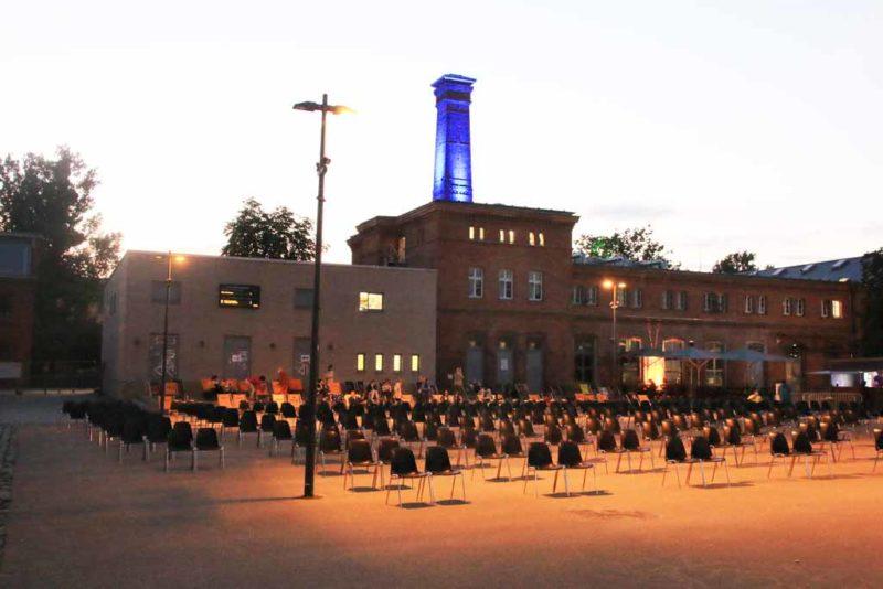 Freilichtkino am Waschaus, Schiffbauergasse in Potsdam