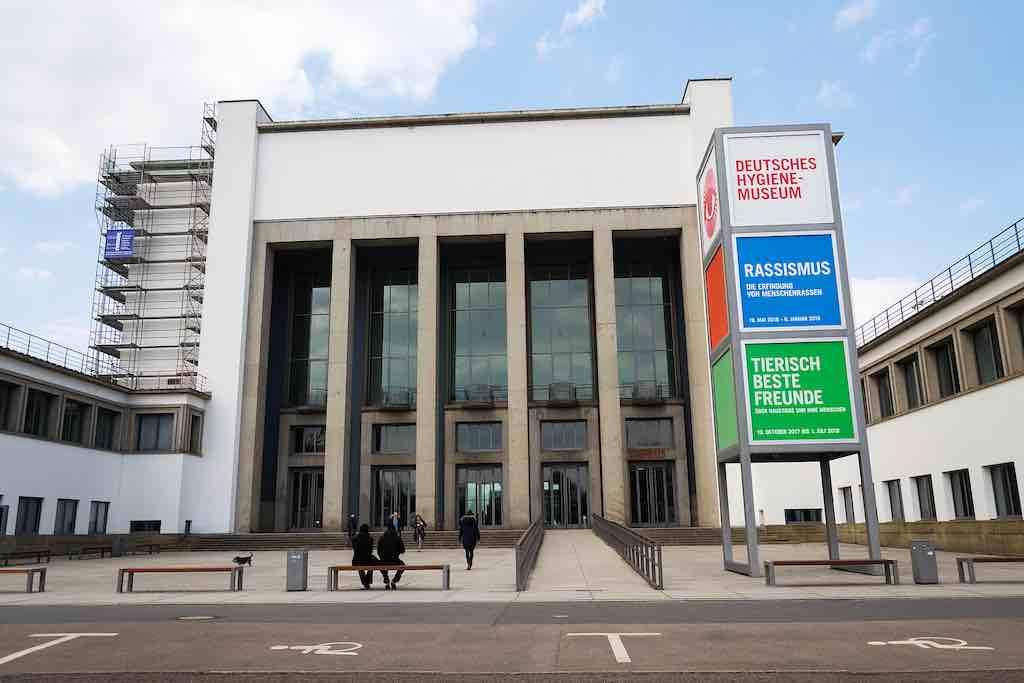Das Hygiene Museum in Dresden