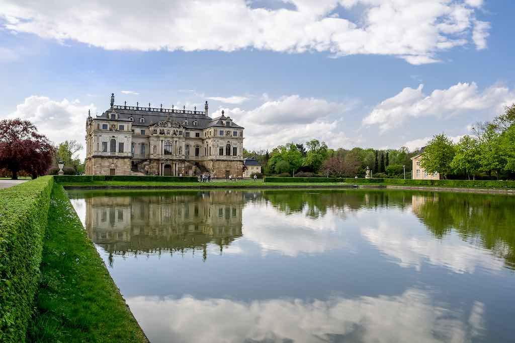 Der Große Garten ist die größte Parkanlage in Dresden