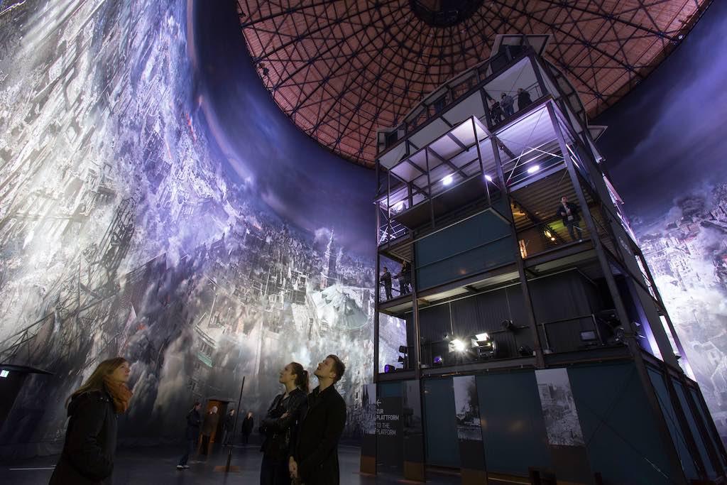 Das Rundumbild im Panometer, Dresden