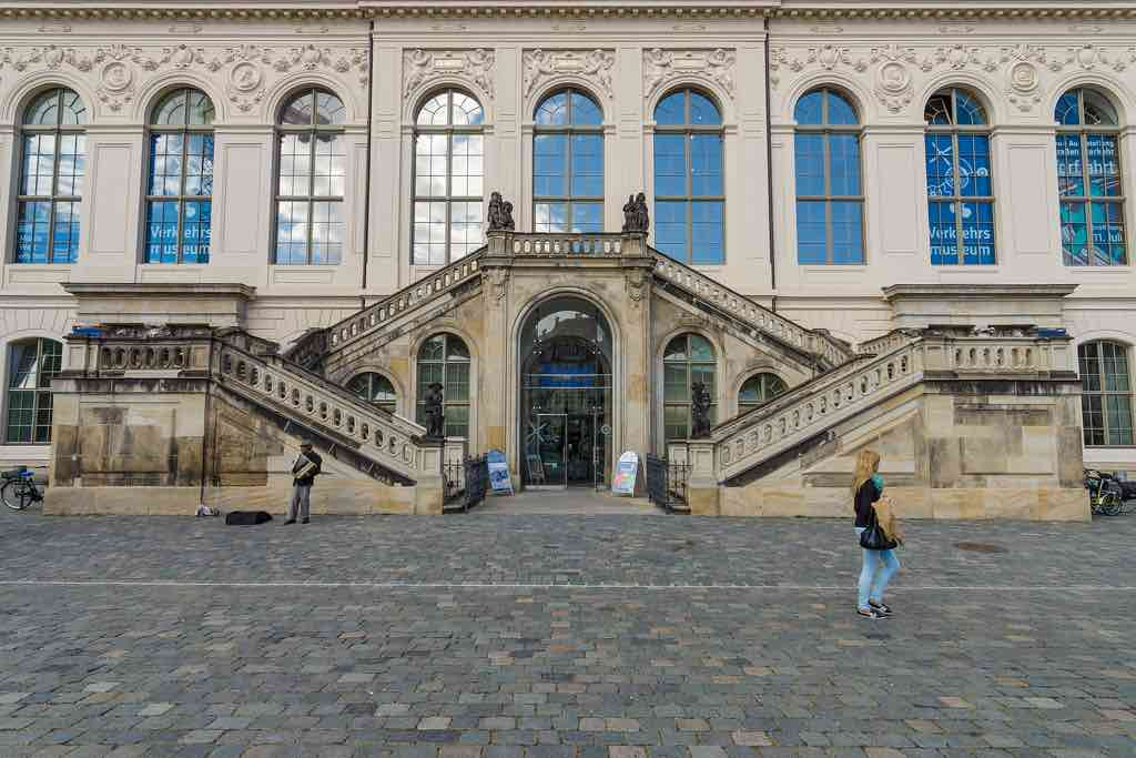 Das Verkehrsmuseum am Dresnder Neumarkt