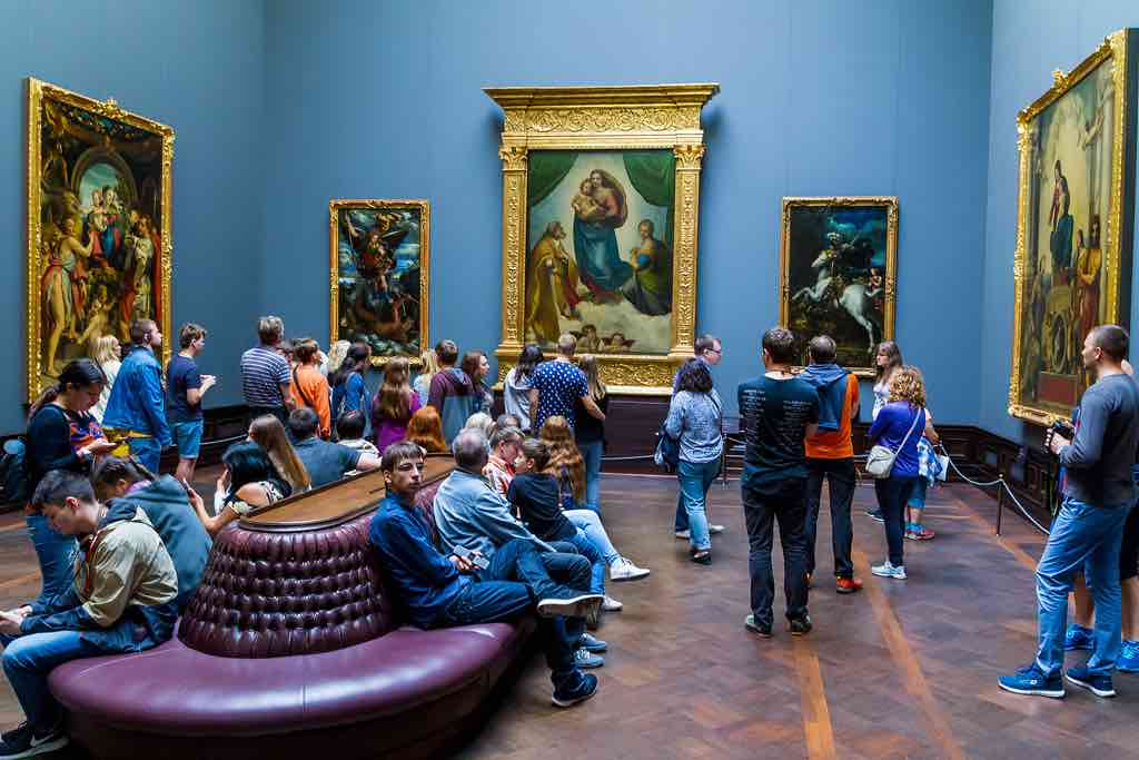 Die Gemäldegalerie Alte Meister in Dresden