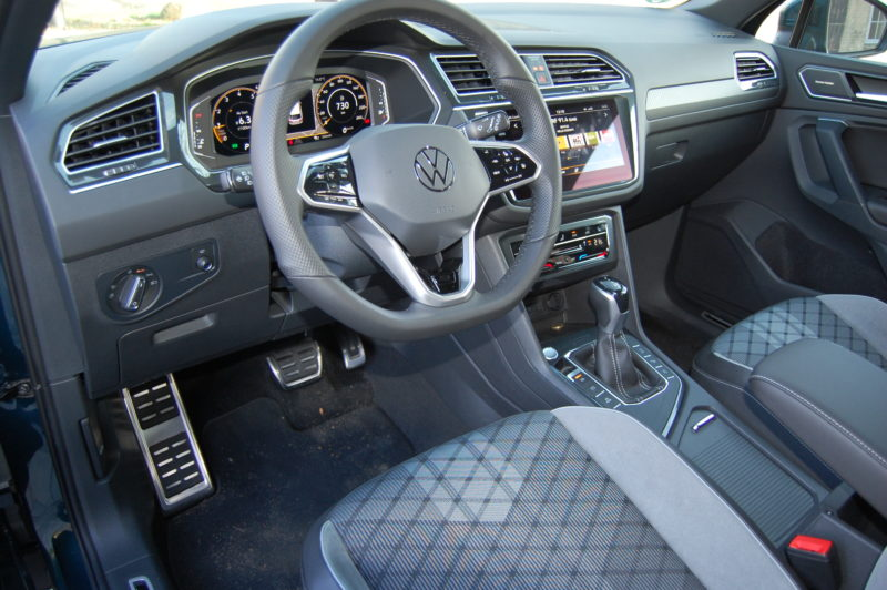VW Tiguan R-Line Foto: F. Moritz