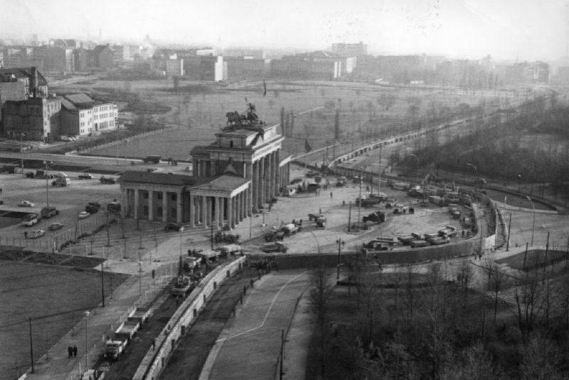 Das Brandenburger Tor 1961