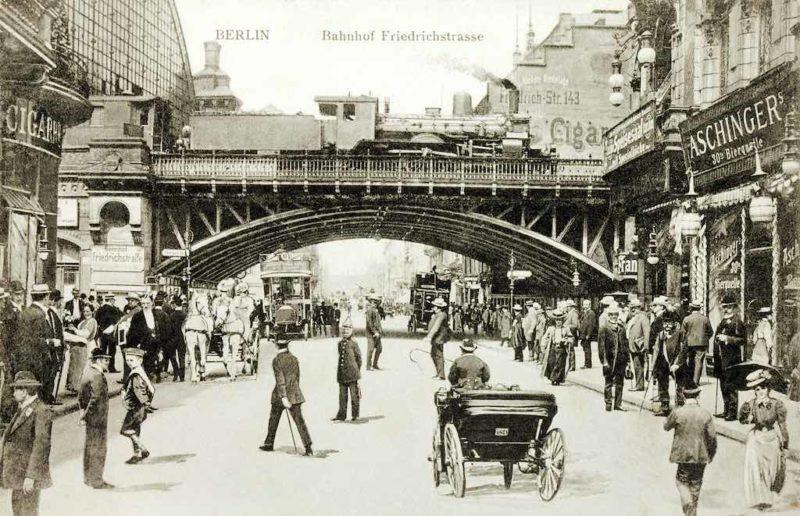 Der Bahnhof Friedrichstraße um 1913