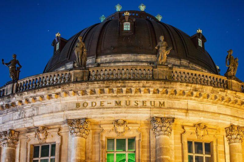 Das Bode Museum auf der Museumsinsel in Berlin, Germany