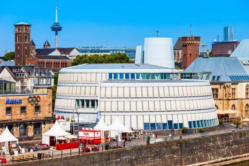 Das Imhoff-Schokoladenmuseum im Kölner Rheinauhafen