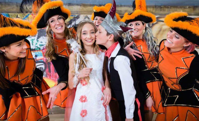 Das Prinzenpaar des Kölner Kinderkarnevals