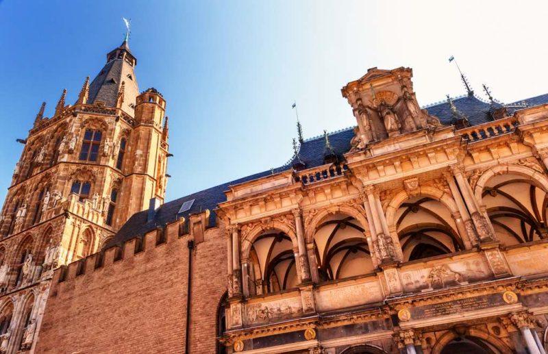 Das historische Rathaus von Köln