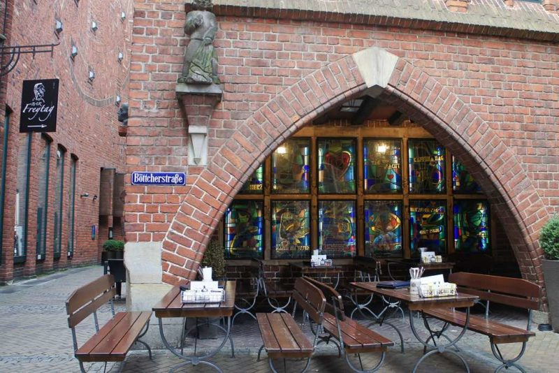 Böttcherstraße in Bremen
