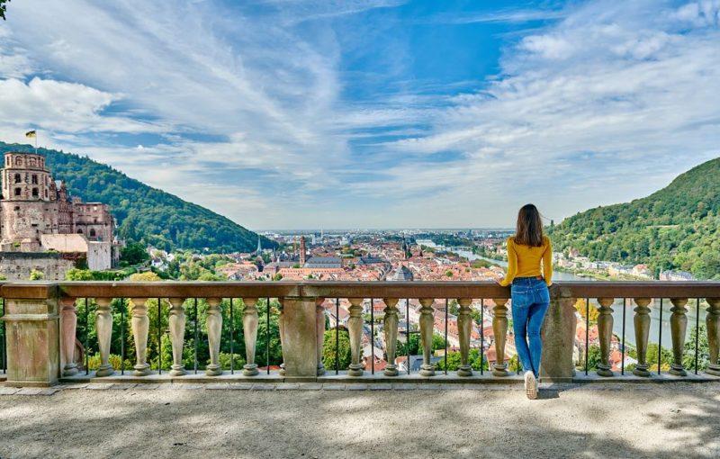 Blick auf das Neckartal