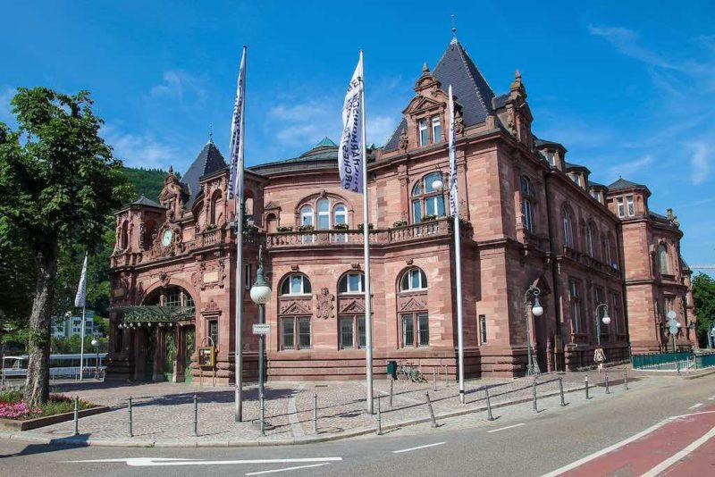 Die Stadthalle von Heidelberg