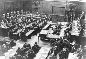 Der Strafprozess vor dem Internationalen Militärgerichtshof in Nürnberg