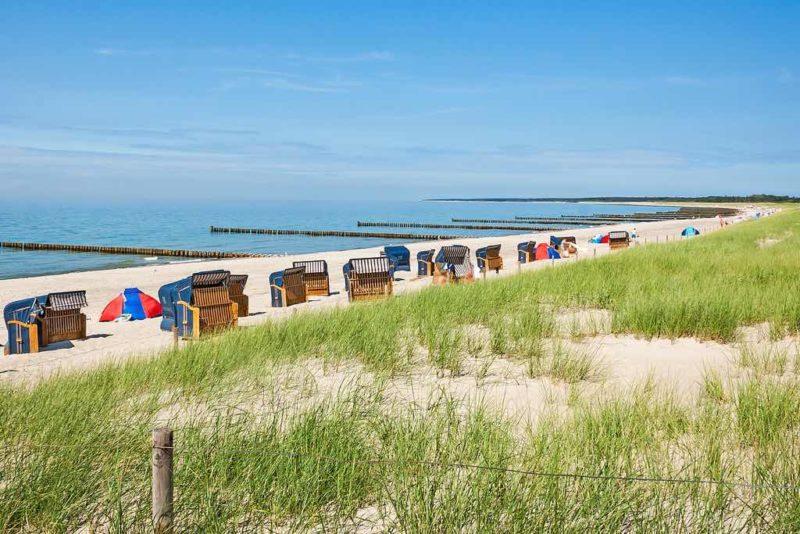 Der Strand von Ahrenshoop