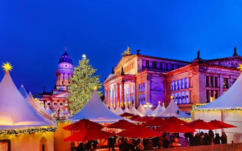 Der Weihnachtsmarkt auf dem Gendarmenmarkt