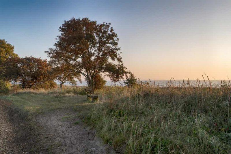 Ostsee-Blick vom Hohen Ufer auf Fischland