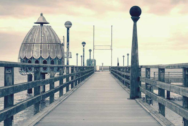 Die Seebrücke von Zingst zählt zu den beliebtestn Sehenswürdigkeiten auf der Halbinsel Fischland-Darss-Zingst