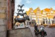 Die Bremer Stadtmusiker in der Bremer Altstadt